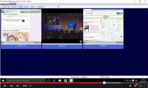 Remote screen capture